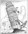 M965.199.2070 | Leaning Tower. | Drawing | John Collins |  |