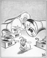 M965.199.2303 | His Master's Voice. | Drawing | John Collins |  |