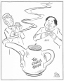 M965.199.2679 | Tea for Two. | Drawing | John Collins |  |