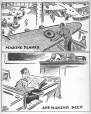 M965.199.3386 | Making Planes and Making Men Canada Needs Both To-Day. | Drawing | John Collins |  |
