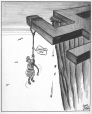 M965.199.5674 | Near the End of His Rope. | Drawing | John Collins |  |