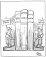 M965.199.5902 | Book Ends. | Drawing | John Collins |  |