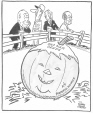 M965.199.6016 | The Frost is on the Pumpkin. | Drawing | John Collins |  |