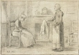 M966.176.38 | Young Women | Drawing | William Brymner |  |
