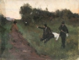 M966.176.43 | The Duel | Painting | Edmond Dyonnet, 1859-1954 |  |