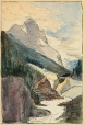 M966.176.55 | Mt. Stephen | Drawing | William Brymner |  |