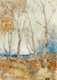 M966.176.57 | Trees | Painting | Kenneth Ross MacPherson, 1861-1916 |  |