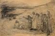 M966.176.98 | A Gathering | Drawing | Edmond Dyonnet, 1859-1954 |  |