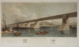 M969.81 | Grand Trunk Railway of Canada, Victoria Bridge, now constructing across the St. Lawrence River at Montreal, QC | Print | S. Russel |  |