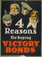 M970.110.24 | 4 Reasons for buying VICTORY BONDS | Poster | Anonyme - Anonymous |  |