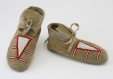 M975.61.155.1-2 |  | Moccasins | Anonyme - Anonymous | Aboriginal | Northern Plains or Plateau