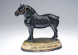 M980.77 | Figurine of a horse advertising Dawes Brewery's Black Horse Ale, 1920-1940 | Sculpture | Dunbar Aluminum Foundry Ltd. |  |