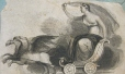 M982X.547.1.23   Allegorical Female Figure   Print   Anonyme - Anonymous     