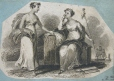 M982X.547.1.25   Two Allegorical Female Figures   Print   Anonyme - Anonymous     
