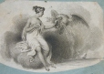 M982X.547.1.27   Allegorical Female Figure   Print   Anonyme - Anonymous     