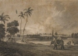M982X.547.1.60 | View of the Black's Town at Madras | Print | William Craig |  |