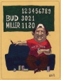 M985.221.176 | Beer and Baseball World Series | Drawing | Aislin (alias Terry Mosher) |  |