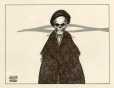 M985.221.60 | Ayatollah Khomeini | Drawing | Aislin (alias Terry Mosher) |  |