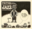 M986.283.72 | Le Festival international de jazz de Montréal | Dessin | Aislin (alias Terry Mosher) |  |