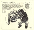 M986.286.29 | Canadian Football Is In | Drawing | Aislin (alias Terry Mosher) |  |