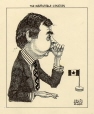 M986.286.50 | The Inscrutable Canadian | Drawing | Aislin (alias Terry Mosher) |  |