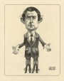 M986.289.90 | The Joe Clark Puppet | Drawing | Aislin (alias Terry Mosher) |  |
