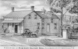 M987.253.101 | Store and residence of Andrew Oliver, Esq., Huntingdon County, Quebec | Print | H. Belden Co. (Publisher - éditeur) |  |