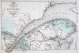 M987.253.70 | Eastern part of the province including the Gaspe Peninsula, Quebec | Print | Eugène Taché |  |