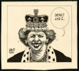 M988.175.105 | Margaret Thatcher Elected for a Third Term | Drawing | Aislin (alias Terry Mosher) |  |