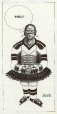 M988.176.180 | Hockey Player | Drawing | Aislin (alias Terry Mosher) |  |