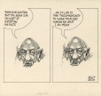 M988.176.352 | The Media Distorts the Facts... | Drawing | Aislin (alias Terry Mosher) |  |