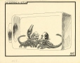 M988.176.367 | Two Scorpions in a Bottle | Drawing | Aislin (alias Terry Mosher) |  |