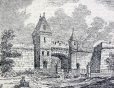 M988.182.36.7 | QUEBEC:-LORD DUFFERIN'S PLANS FOR THE PRESERVATION OF ITS HISTORICAL MONUMENTS. ST. LOUIS GATE. | Print | John Henry Walker (1831-1899) |  |
