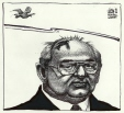 M989.397.35 | Gorbachev and the Dove of Peace | Drawing | Aislin (alias Terry Mosher) |  |