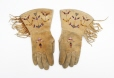 M990.753.1.1-2 |  | Gloves | Anonyme - Anonymous | Aboriginal: Assiniboine or Nakoda | Northern Plains