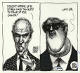 M990.761.44 | Trudeau and Mulroney | Drawing | Aislin (alias Terry Mosher) |  |