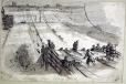 M991X.5.799 | Looking from top of toboggan slide | Drawing | John Henry Walker (1831-1899) |  |