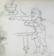 M991X.5.834 | Enfant et table | Dessin | John Henry Walker (1831-1899) |  |