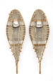 M993.115.83.1-2 |  | Snowshoes | Anonyme - Anonymous | Aboriginal: Innu? | Eastern Subartic