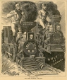 M993X.5.925 | THE RAILROAD WAR. ON THE RIGHT TRACK. | Print | Anonyme - Anonymous |  |