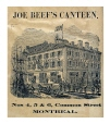 M995X.5.35.4 | Joe Beef's Supplement. Third Edition. Joe Beef's Canteen No.4, 5 and 6, Common Street Montreal. | Print | John Henry Walker (1831-1899) |  |