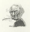 m996.10.111 | Claude Ryan Is Pulling Our Tongue | Drawing | Serge Chapleau |  |