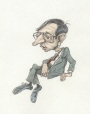 M996.10.14 | Robert Bourassa | Drawing | Serge Chapleau |  |