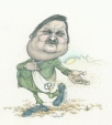 M996.10.2 | Jean Garon Sows PQ Message to the Wind | Drawing | Serge Chapleau |  |
