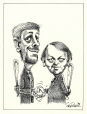 m996.10.312 | Good Buddies...? | Drawing | Serge Chapleau |  |