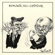 m996.10.344 | Reykjavik 86: Optimism Reigns | Drawing | Serge Chapleau |  |