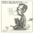 M996.10.359 | How to Increase President Bush's Popularity Rating | Drawing | Serge Chapleau |  |