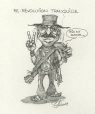 M996.10.379 | The New Quiet Revolution | Drawing | Serge Chapleau |  |