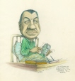 m996.10.40 | Education Minister Gets Ready for Work | Drawing | Serge Chapleau |  |