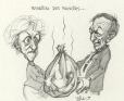 M996.10.444 | The Passing On of Power... | Drawing | Serge Chapleau |  |